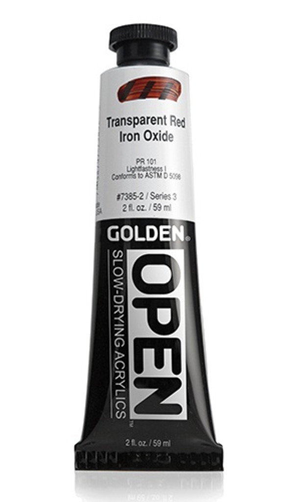 OPEN Transparent Red Iron Oxide