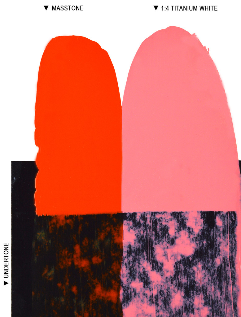 Langridge Pyrrole Orange Oil Colour