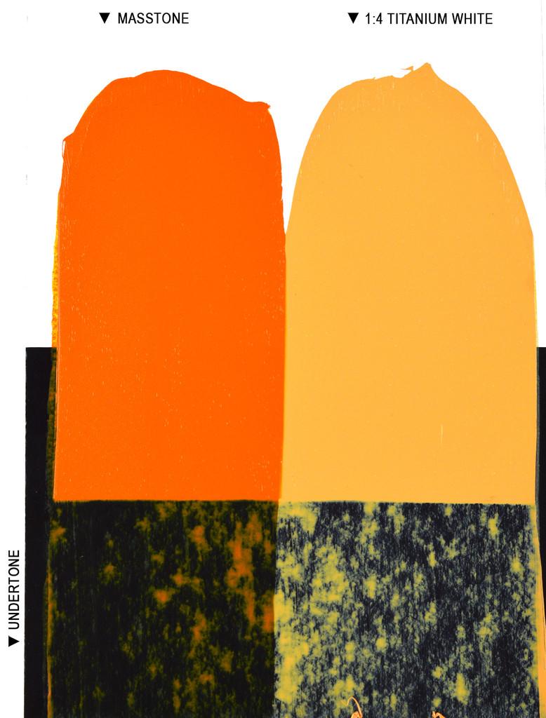 Langridge Neon Orange Oil Colour