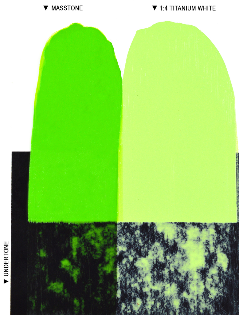 Langridge Video Green Oil Colour