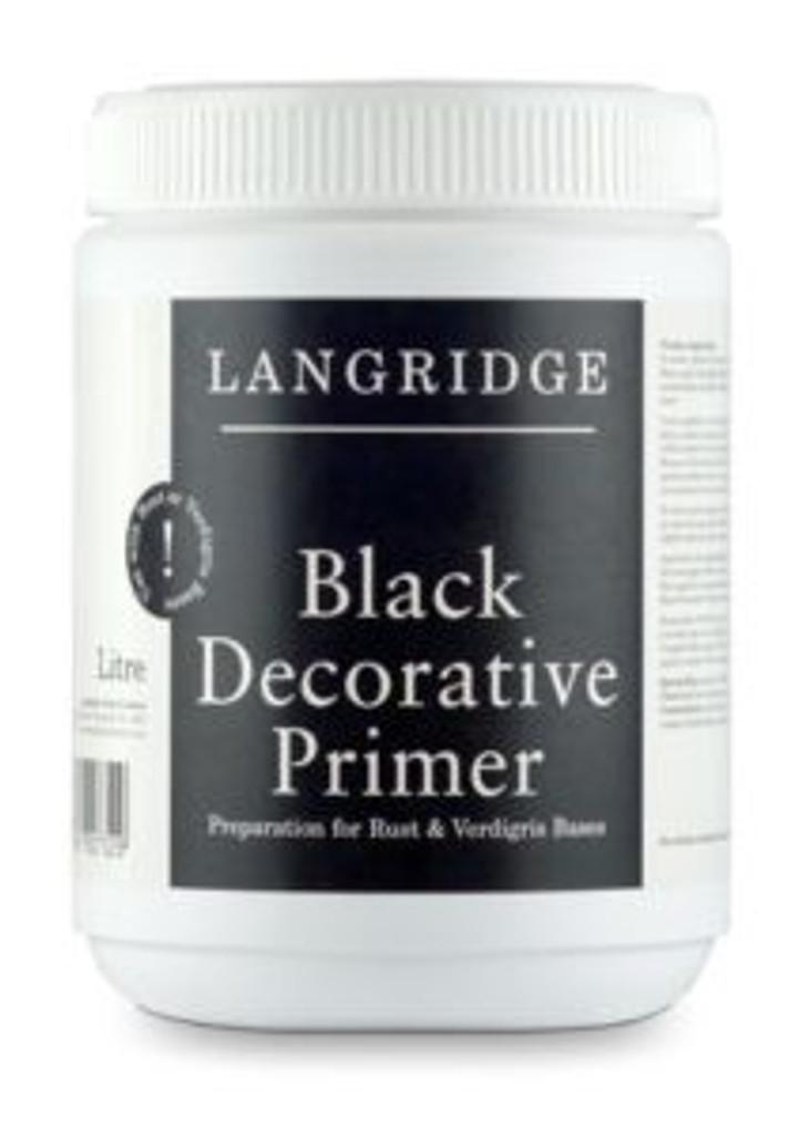 Decorative Black Primer