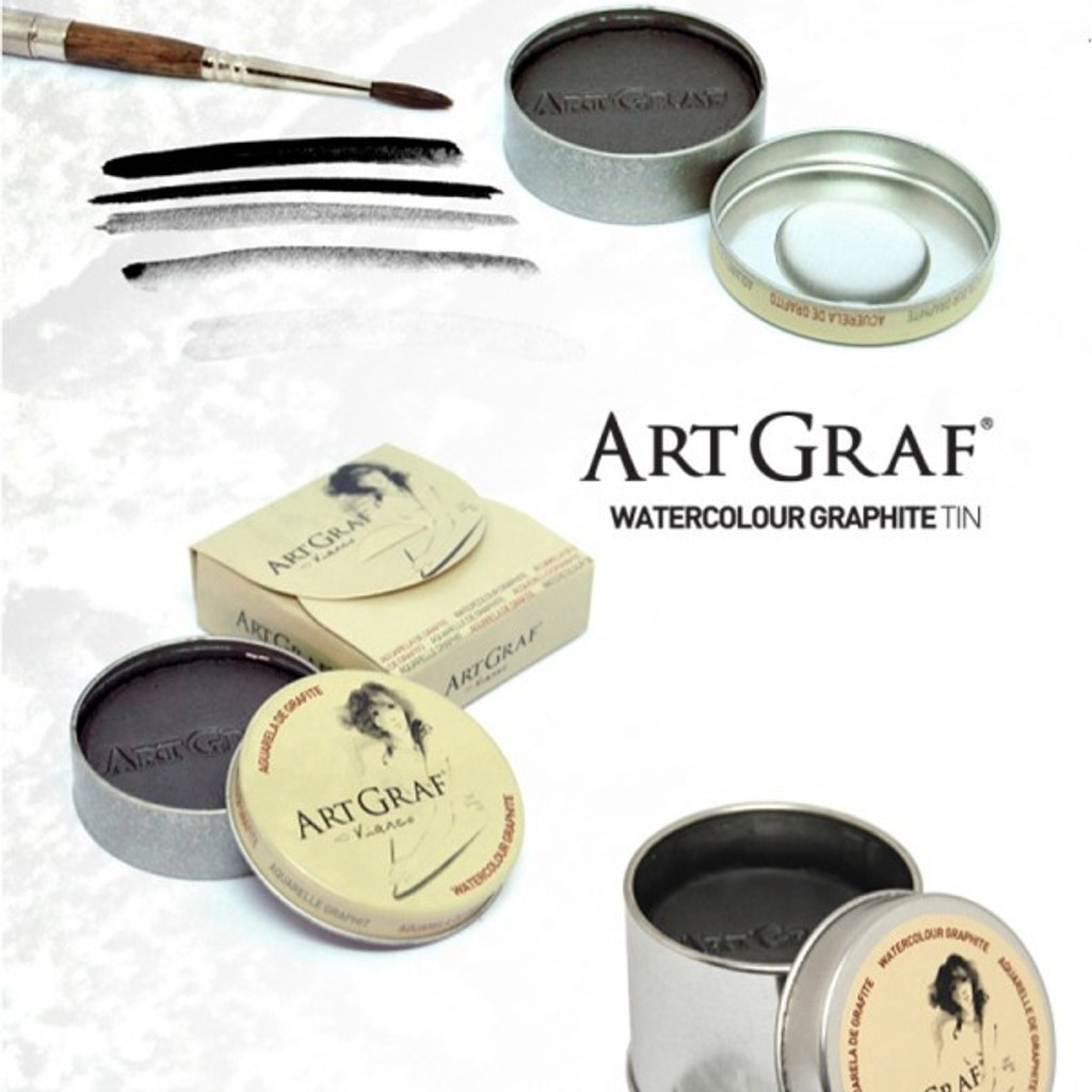 Viarco ARTGRAF WATERCOLOUR GRAPHITE TIN