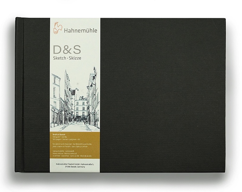 Hahnemuhle Sketch Book Black - Square