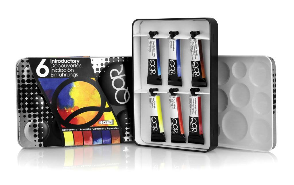 QoR Introductory 6 Colour Set