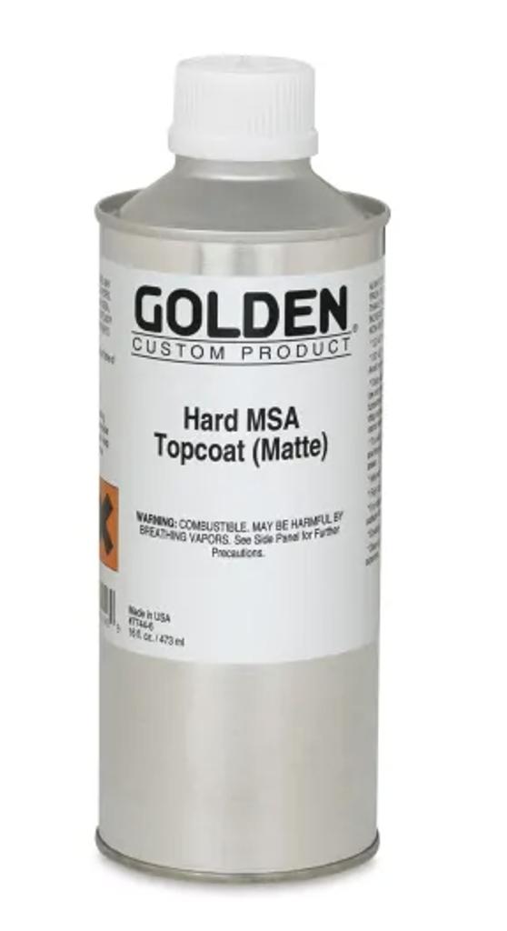 Hard MSA Topcoat Varnish - Matte