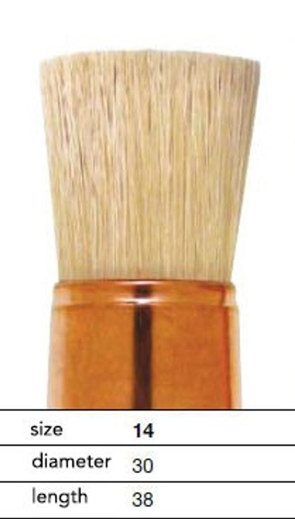 Leonard Bristle Stencil Brush 398RD