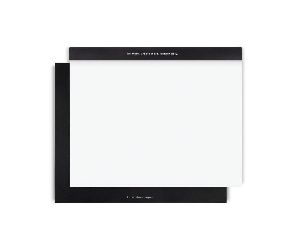 Karst Stone Paper Sketchpad Black