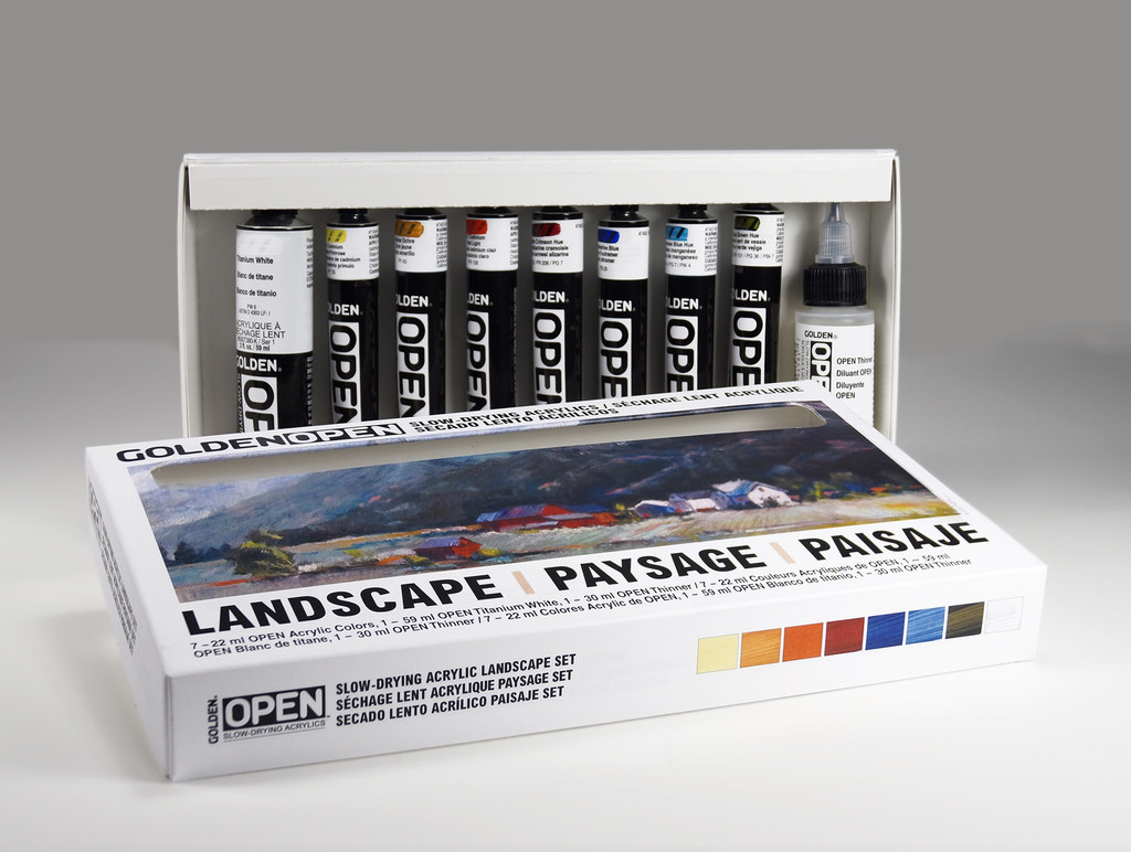 OPEN Acrylic Introduction Set - Landscape