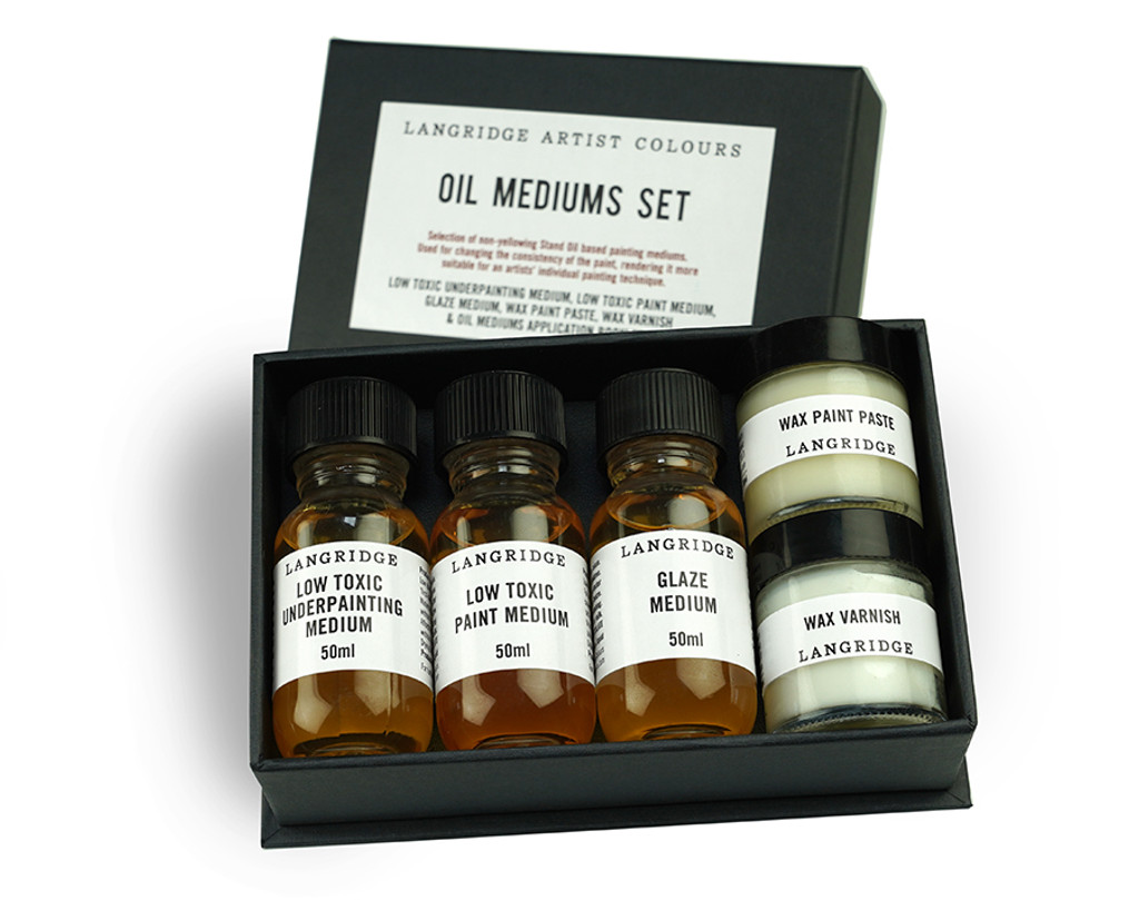 Oil Mediums Box Set