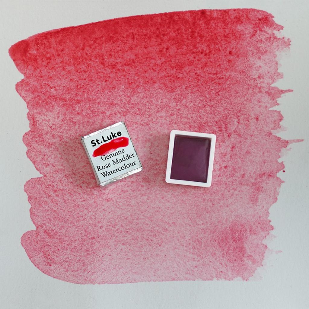 Rose Madder Watercolour Half pan
