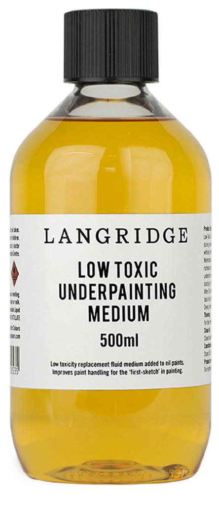 Low Toxic Underpainting Medium