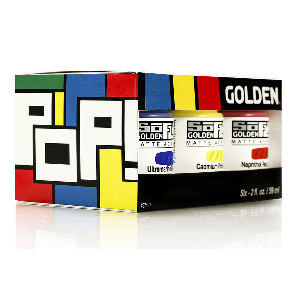 SoFlat Pop 6 Colour Set