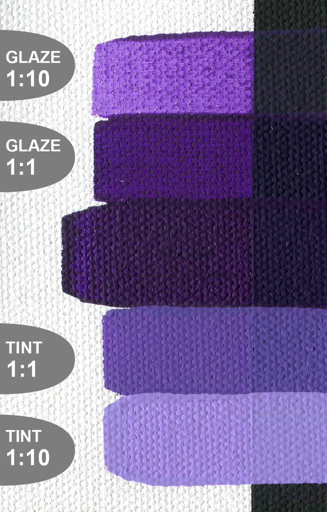 SoFlat Dioxazine Violet Deep