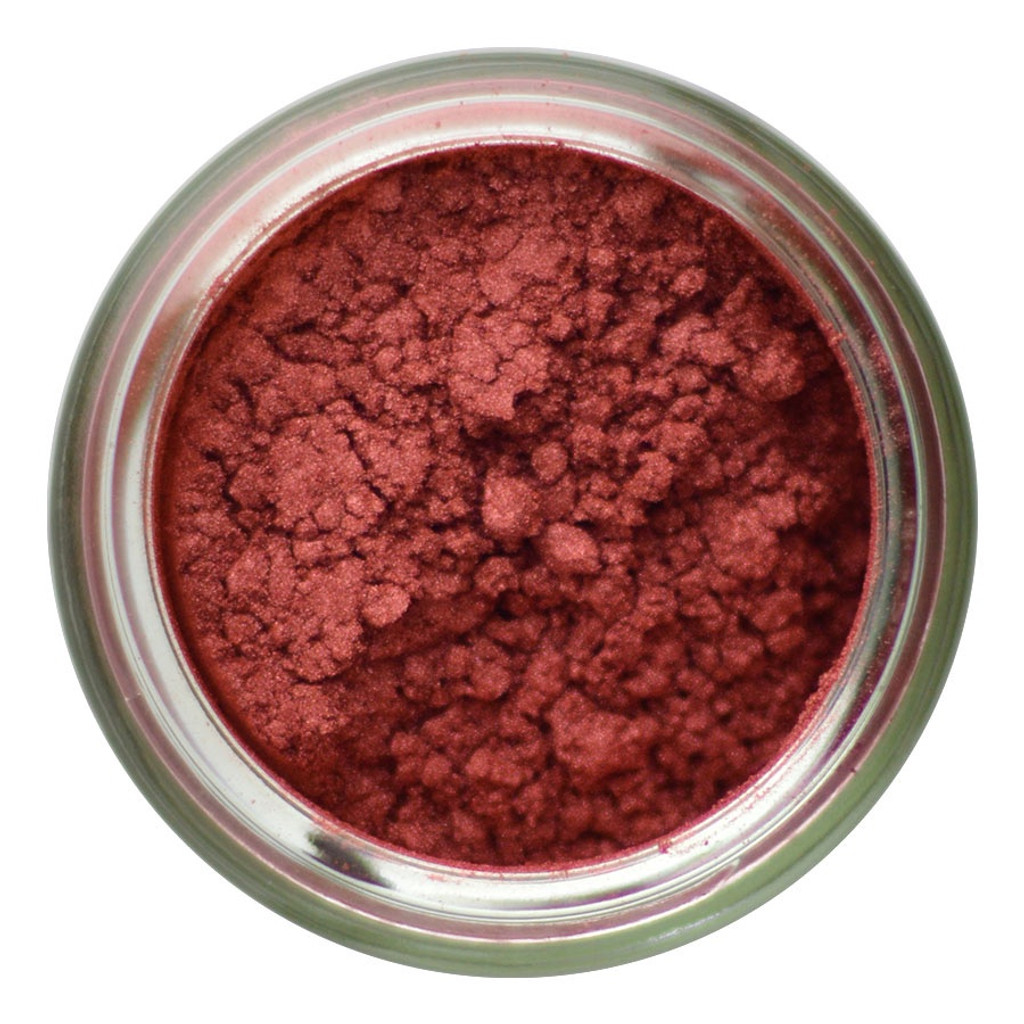 Iridescent Red Copper Pigment