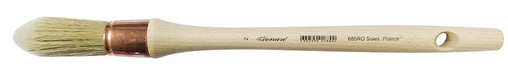 Leonard Bristle Sash Round Pointed 685RO