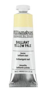 Williamsburg Brilliant Yellow Pale Oil Colour