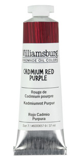 Williamsburg Cadmium Red Purple Oil Colour