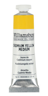 Williamsburg Cadmium Yellow Medium Oil Colour