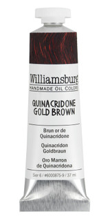 Williamsburg Quinacridone Gold Brown Oil Colour