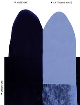 Langridge Indanthrone Blue Oil Colour