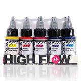 High Flow Transparent 10 Colour Set
