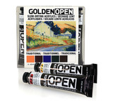 Golden OPEN Acrylic Intro Set - Traditional