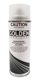 Golden MSA Archival Spray Varnish - Matte