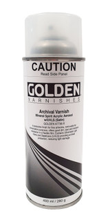 Golden MSA Archival Spray Varnish - Satin