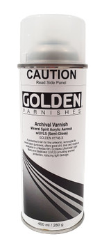 Golden MSA Archival Spray Varnish - Semi Gloss