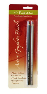 Viarco ARTGRAF W/S GRAPHITE PENCIL 2B/6B Pack