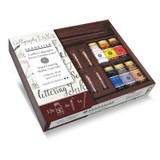 Sennelier Encre 12 Colour Ink Set in Wooden Box
