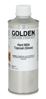 Hard MSA Topcoat Varnish - Gloss