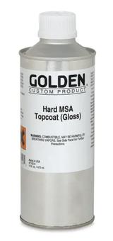 Hard MSA Topcoat Varnish - Gloss