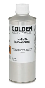 Hard MSA Topcoat Varnish - Satin