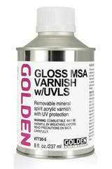 Gloss MSA Varnish (w/UVLS)