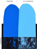 Langridge Video Blue Oil Colour