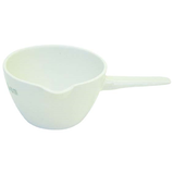 Evaporating Dish Porcelain With Handle