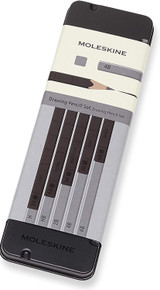 Moleskine Drawing Pencil Set of 5 in Tin