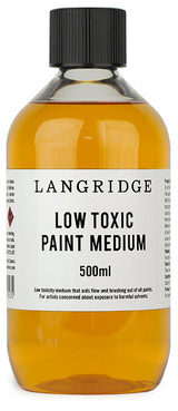 Low Toxic Painting Medium