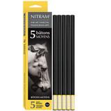 Nitram Baton Moyens (8mm soft round)