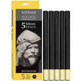 Nitram Batons Epais (12mm soft round)