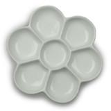 Palette Flower Porcelain 120mm Diam