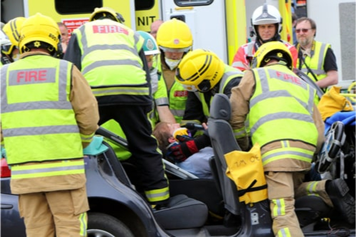 Powerheart AED's in Fire and Emergency Services