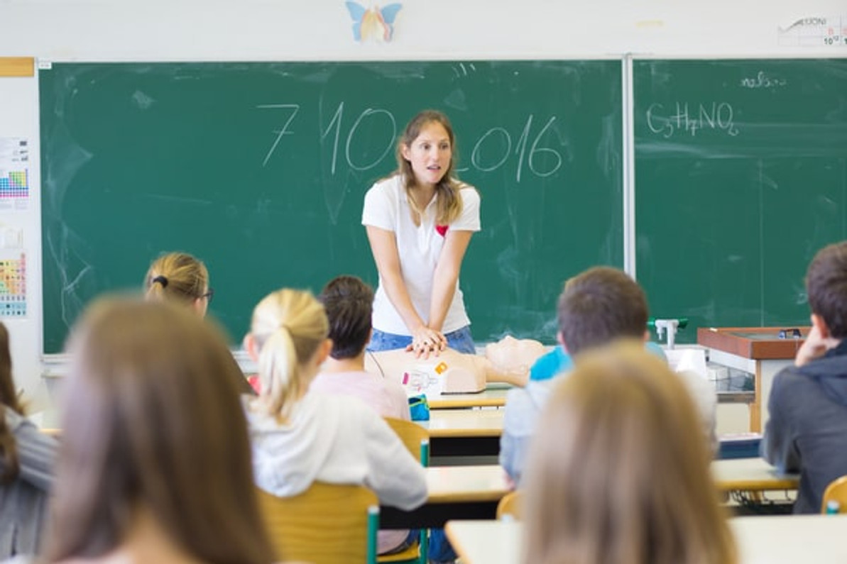 Defibrillators in Schools