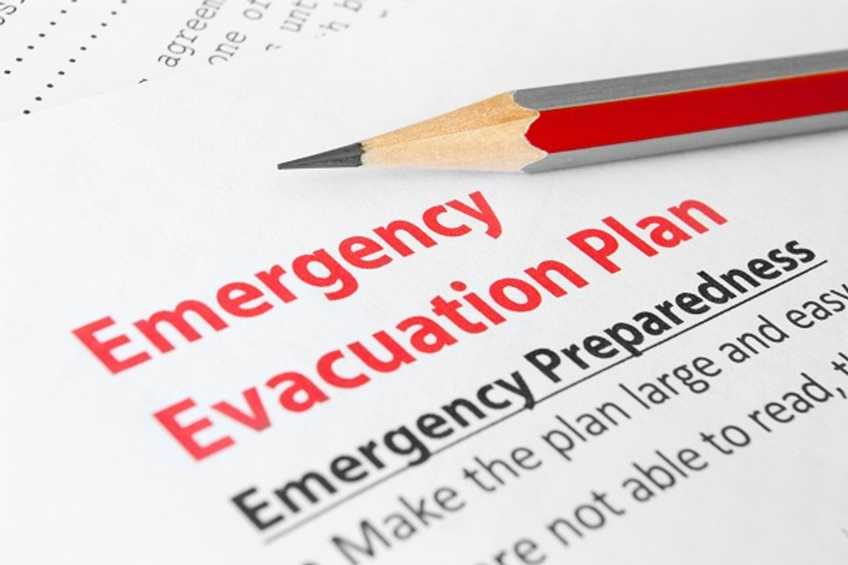 Fire evacuation plan - what you should know!