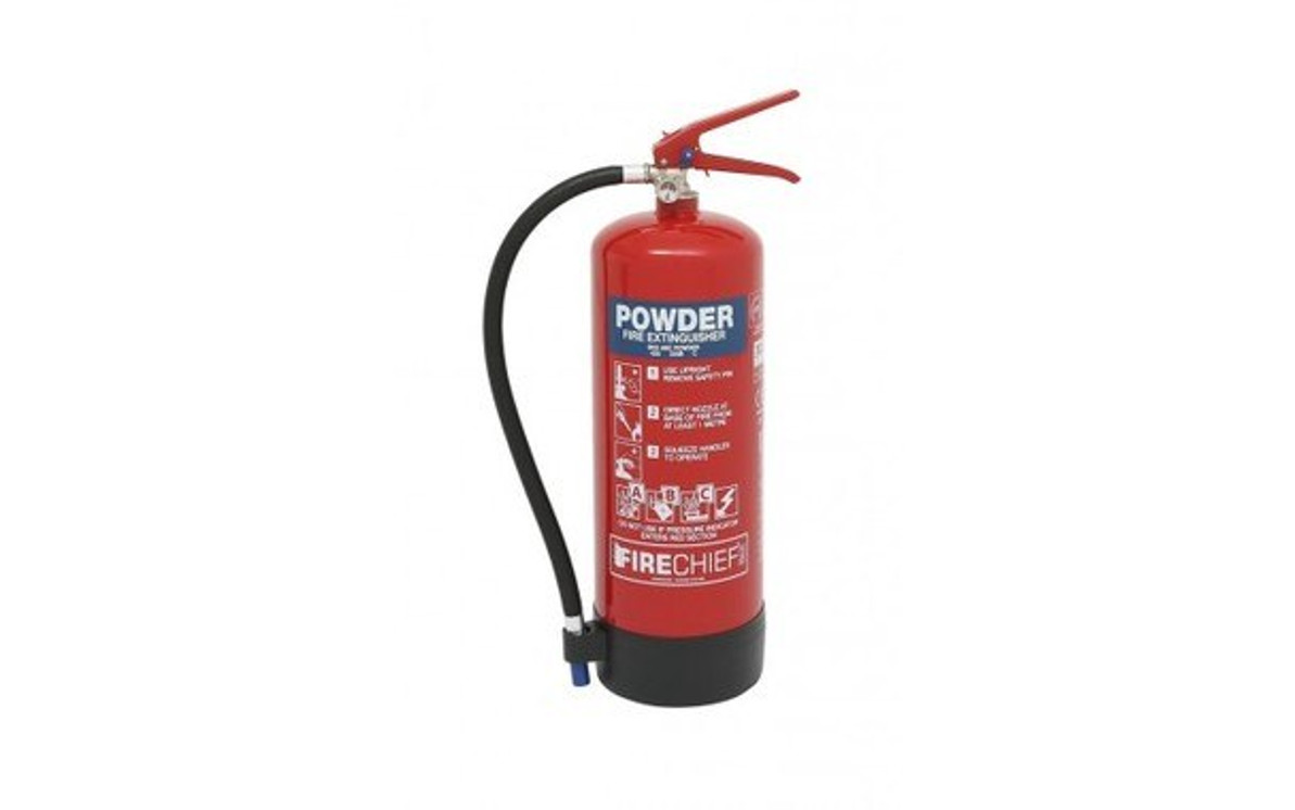 What type of fire extinguisher should I use?