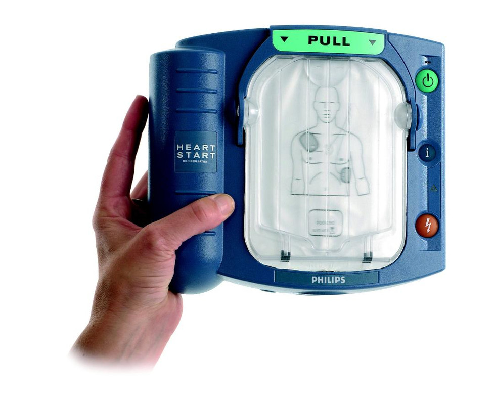 Why to choose the Philips HS1 defibrillator?