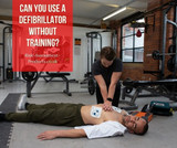 Can you use a defibrillator without training?