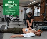 Does a defibrillator hurt?