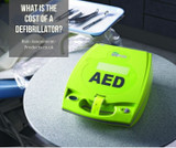 What is the cost of a defibrillator?